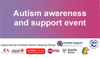 Tea and cake autism awareness and support event