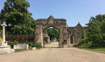 Tite Arch at West Norwood Cemetery