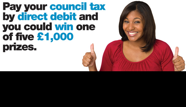 Pay by Direct Debit and you could win £1,000