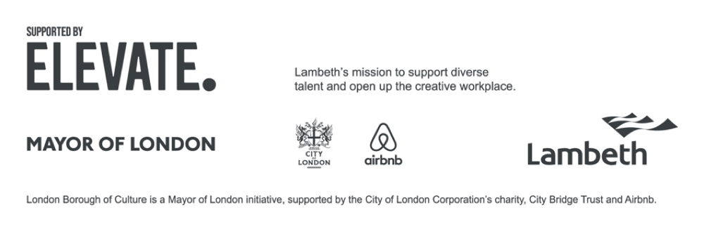 Logos of organisations that support elevate