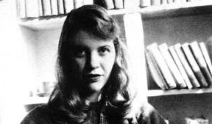 Photo of Sylvia Plath taken from Wikimedia Commons