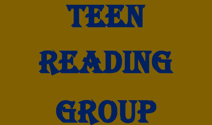 Teen Reading Group poster