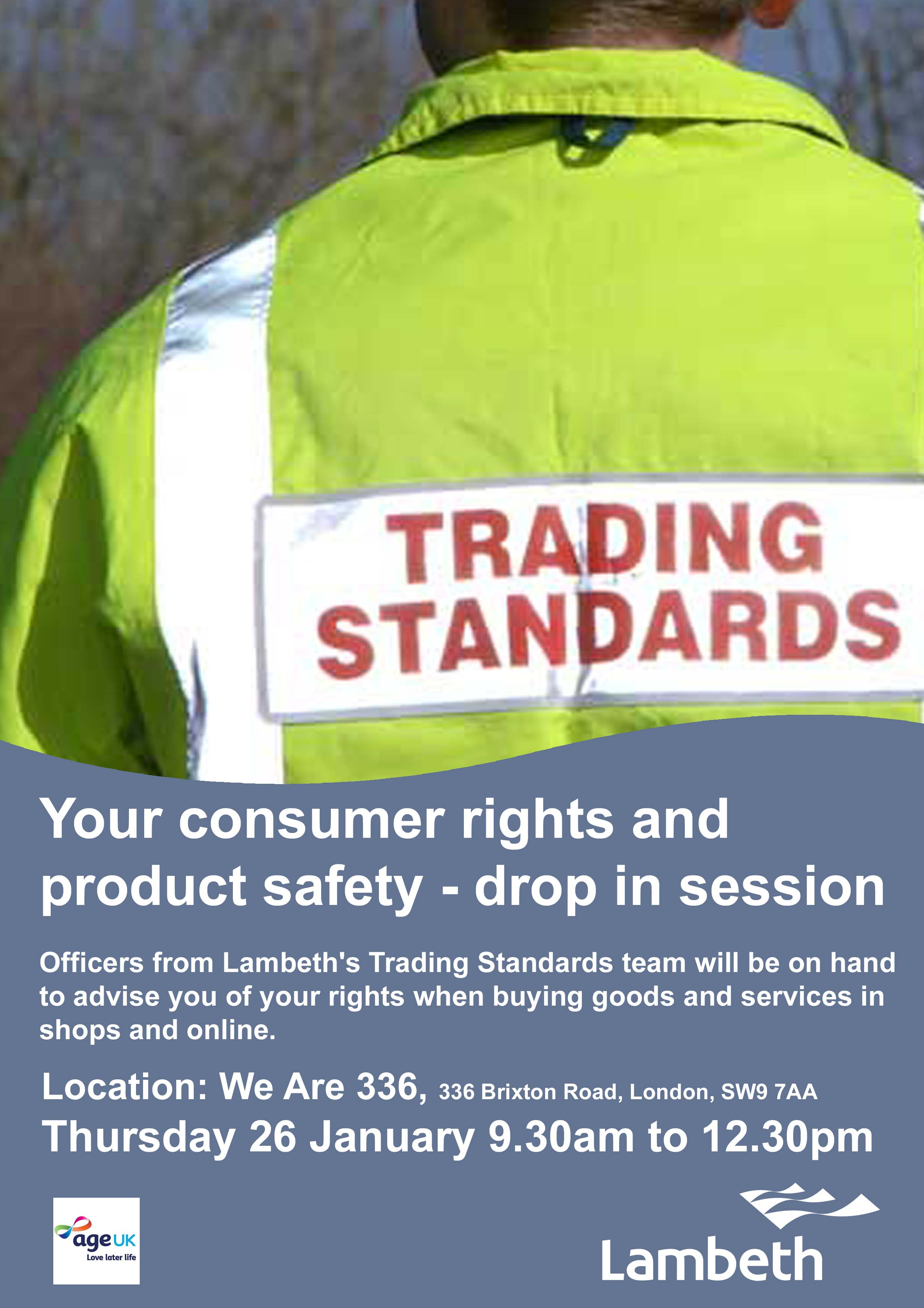 d4da284264 Your consumer rights and product safety - drop in session at We are ...