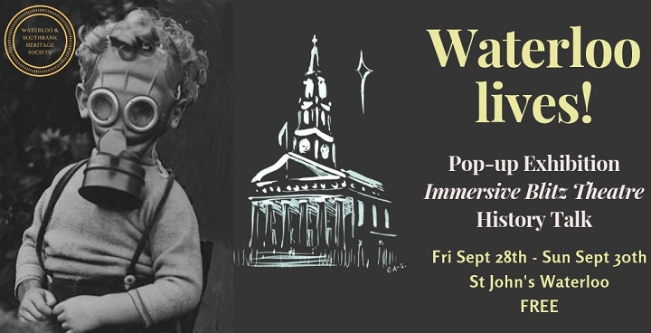 Waterloo Lives - Pop-up history exhibition at St John's