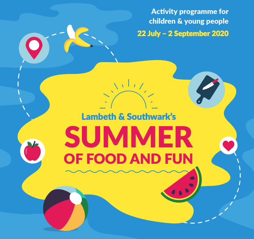 summer of food and fun flyer