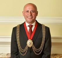 Mayor of Lambeth Councillor Christopher Wellbelove