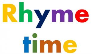 Rhyme time poster