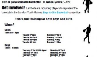 Baskebetball 2019 Team Lambeth poster