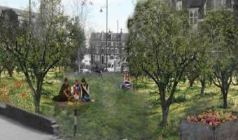 Artist's impression of Brixton Orchard