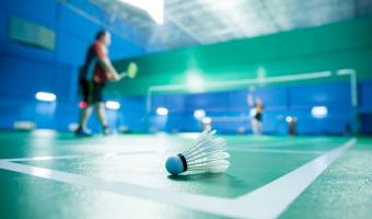 Badminton at Clapham Leisure Centre Weds. activities club sessions for older people