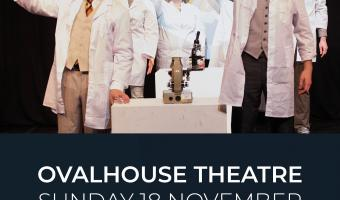The mould that changed the world poster - musical about Alexander Fleming & antibiotics - Oval House Nov 18 2018 free show