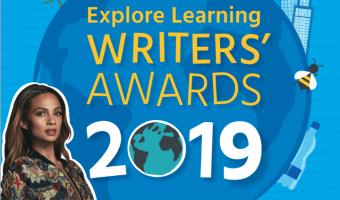 Explore Learning Writers Award logo with Alecia Dixon