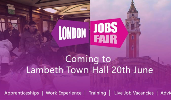 London Jobs Fair 2019 poster