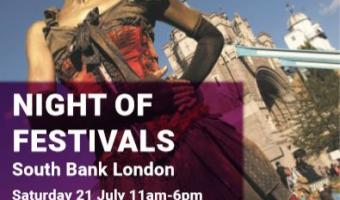 Night of Festivals 21 & 22 July 2018
