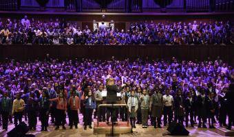 lambeth Sounds 18-23 March 2019 music festival (singing)