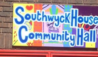 Southwyck House community hall sign by Cool It Art