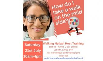 Walking Netball Host Advert July 2018