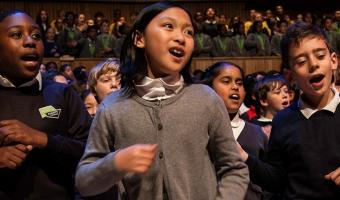 All-Lambeth children's choir meets Mondays 4.45-6pm years 4 to 6