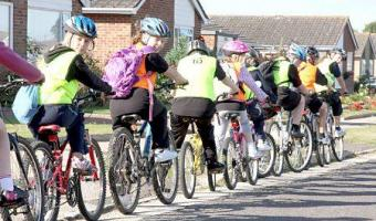 Free cycle training for kids