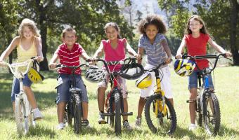 Kids cycling courses