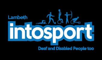 IntoSport logo from Disability Advice Service lambeth