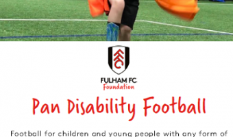 Pan-disability football sessions every week at Dunraven school