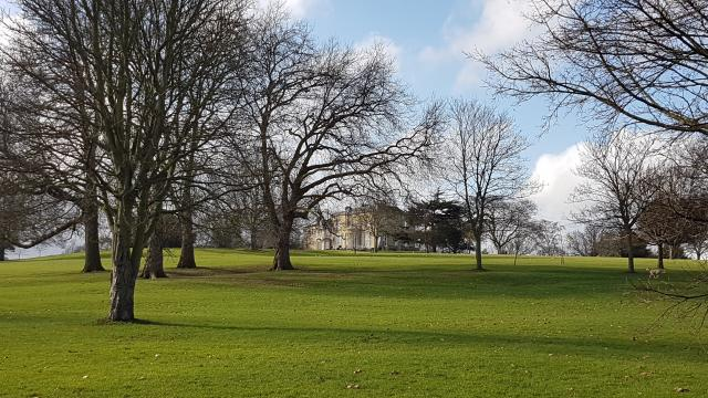 Long distance view of Brockwell Hall