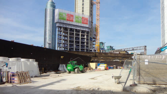Photo of existing site pre-construction