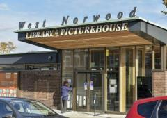 West Norwood Library and Picturehouse entrance